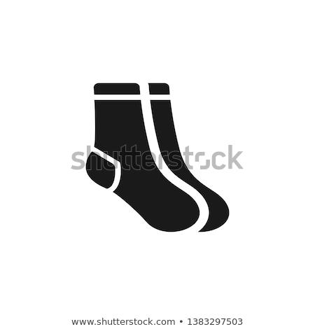 Icon sock Stock photo © zzve