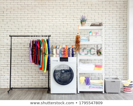 clothesline and clothes Stock photo © prill