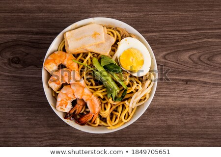 Prawn mee Stock photo © szefei