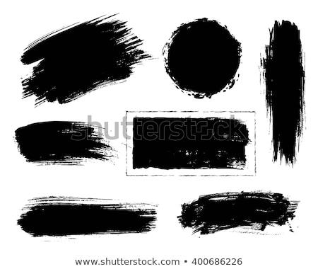 Folt festék absztrakt piros fehér terv Stock fotó © Marfot