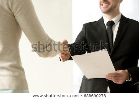 job offer business concept stock photo © tashatuvango