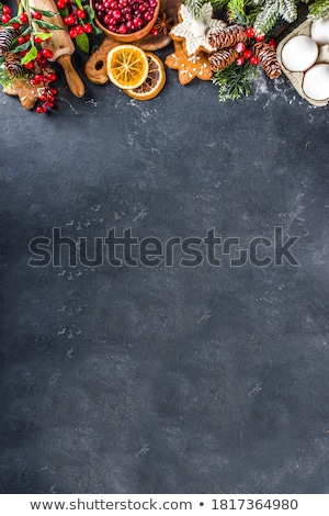 Stock photo: Christmas baking background