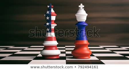 usa russia cooperation stock photo © lightsource