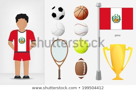 peruvian volleyball team stock photo © bosphorus