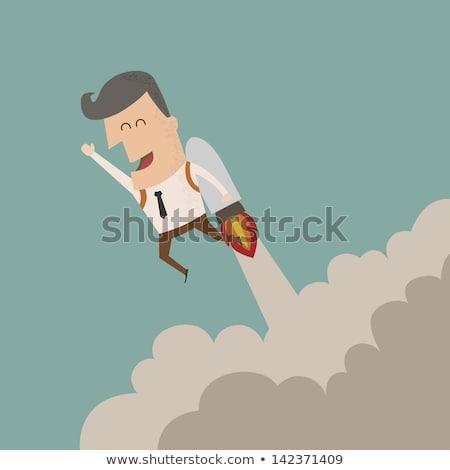 empresário · arriscado · situação · eps10 · vetor · formato - foto stock © ratch0013