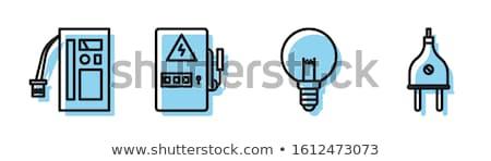 bombilla · luz · coche · pequeño · seguridad · lámpara - foto stock © nemalo