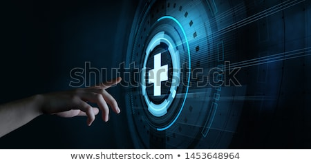 Verzekering digitale gouden kleur tekst donkere Stockfoto © tashatuvango
