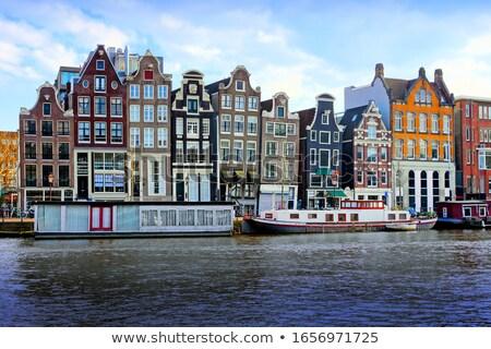 acqua · canale · giro · turistico · turismo · barca · Amsterdam - foto d'archivio © joyr