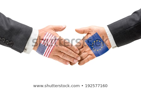 USA and EU reach out their hands Stock photo © Zerbor