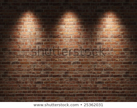fragment of the wall from bricks Stock photo © Marfot