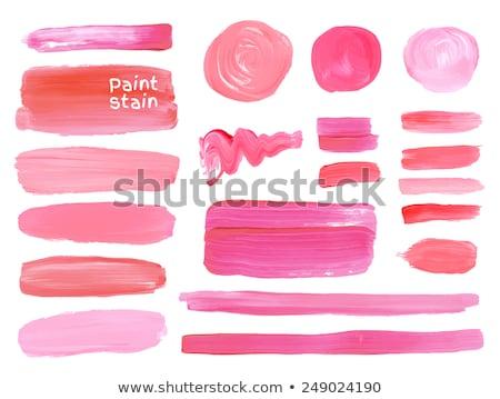 brush nail polish in a circle Stock photo © sfinks