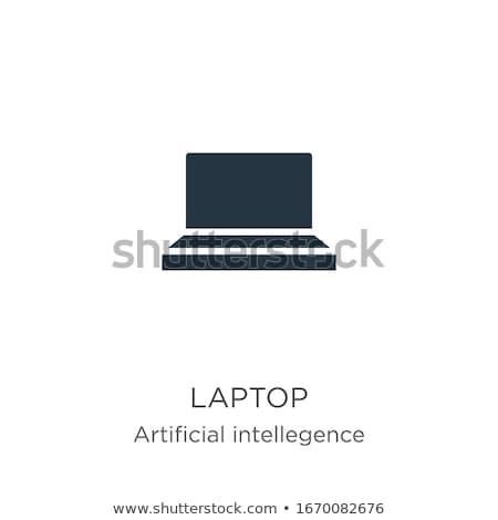 Bilgisayar tablet dizüstü bilgisayar telefon logo duyarlı Stok fotoğraf © MPFphotography