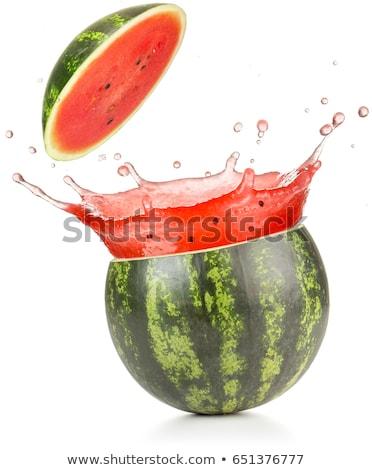 bes · sap · geïsoleerd · witte · water · zomer - stockfoto © loopall