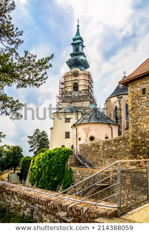 Stock photo: Nitra Castle under Reconstruction