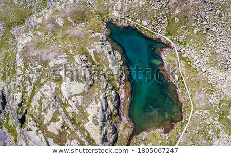Nero lake, Trentino, Italy Stock photo © Antonio-S
