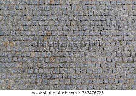 Gray Old Paving Stone Texture. Stock photo © tashatuvango