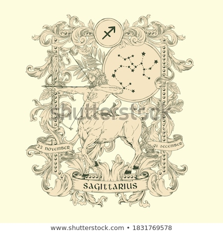 Sketch crab and scorpion in vintage style Stock photo © kali