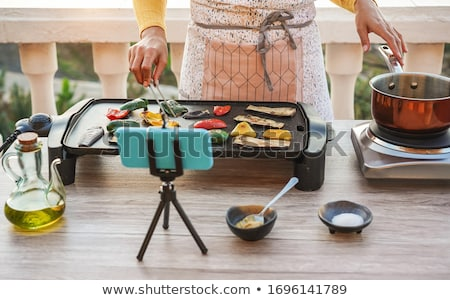 cooking course stock photo © lithian