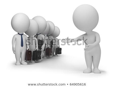 Stock fotó: 3d Small People - Clients
