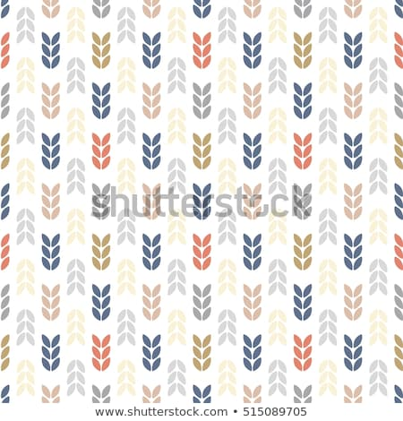 winter abstract geometric seamless pattern stock photo © aliaksandra