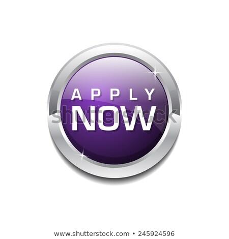 Apply Now Purple Circular Vector Button Stock photo © rizwanali3d