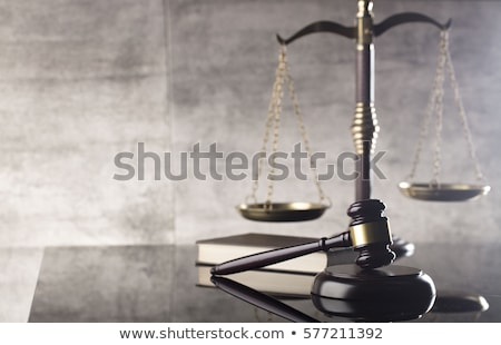 Gavel Law And Justice Symbol Stock photo © NiroDesign
