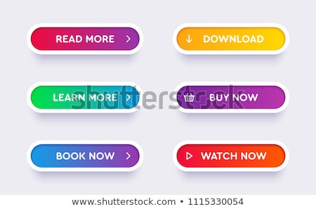 boutons · orange · bleu · vert · pourpre · chrome - photo stock © yupiramos