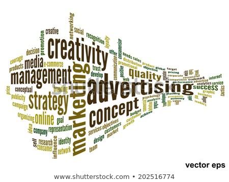 brand wording isolate on white background stock photo © vinnstock