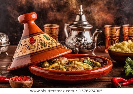 Távolkeleti főzés észak Afrika afrikai edény Stock fotó © tilo