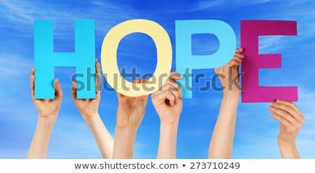 Muitos pessoas mãos colorido em linha reta Foto stock © Nelosa