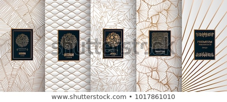 gift box with floral design, vector Stock photo © beaubelle