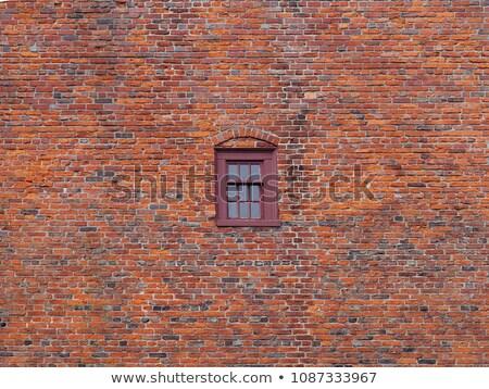 Boston parede de tijolos textura Massachusetts EUA cidade Foto stock © lunamarina