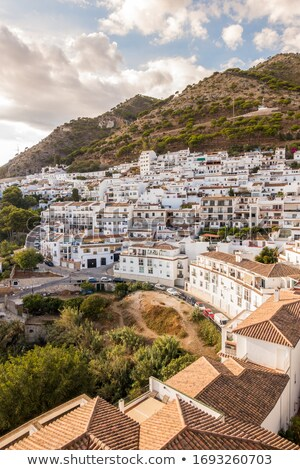 View from the Mijas village to Fuengirola town. Andalusia Stock photo © amok