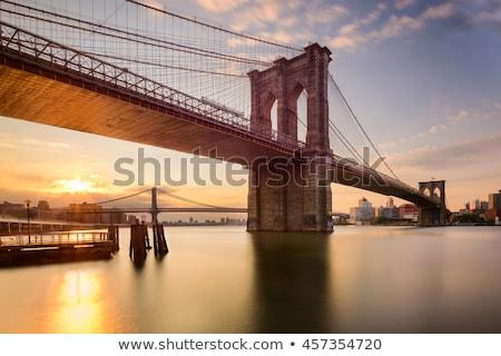 Under the Brooklyn bridge Stock photo © rmbarricarte
