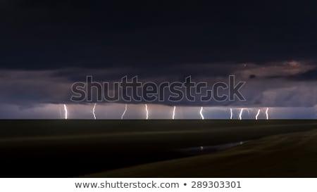 Lightning Over Florida, USA Stock photo © Backyard-Photography