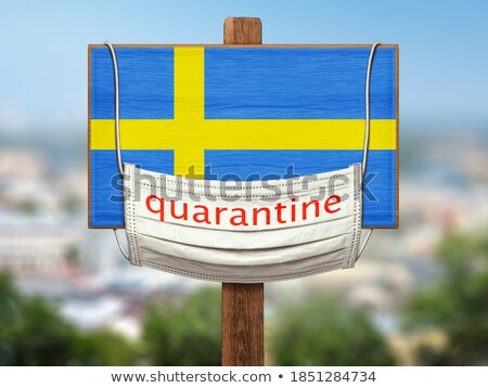 Tablet with Sweden flag Stock photo © tang90246