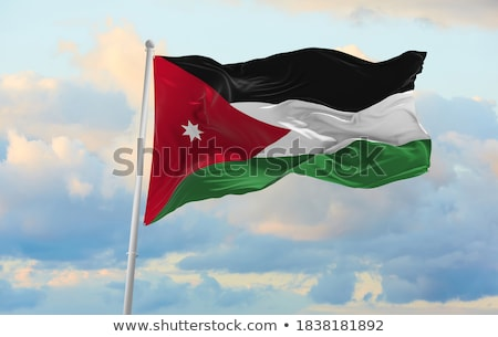 germany and jordan flags stock photo © istanbul2009