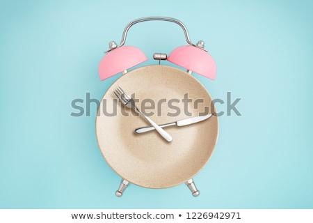tempo · comer · negócio · comida · fundo · cozinha - foto stock © fuzzbones0