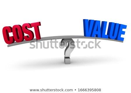 Profit word on blue board Stock photo © fuzzbones0
