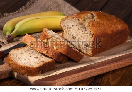 新鮮な バナナ パン 1 ストックフォト © rojoimages