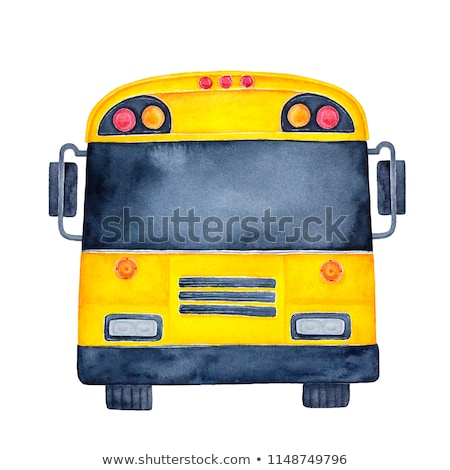 van your bus with your text stock photo © clipartmascots