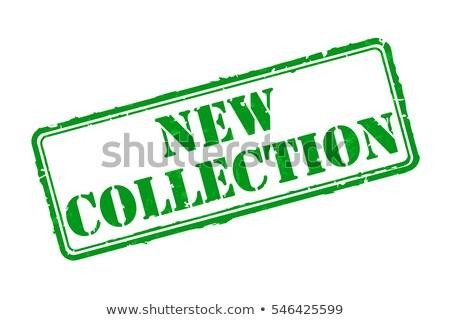 новых коллекция зеленый вектора икона дизайна Сток-фото © rizwanali3d