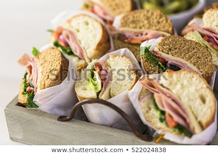 Sub Sandwich for Lunch Stock photo © AlphaBaby