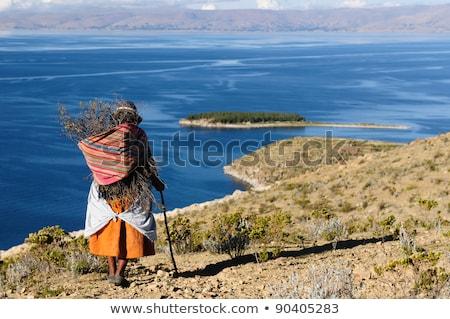 Isla del Sol (Island of the Sun). Lake Titicaca. Bolivia. Stock photo © meinzahn