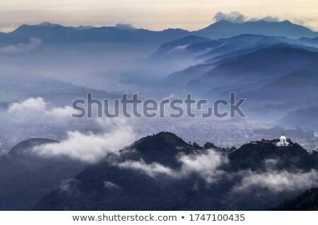 Régió légifelvétel Nepál tájkép szépség hegy Stock fotó © dutourdumonde