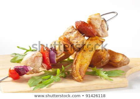 鶏 ジャガイモ 食品 トマト ランチ ストックフォト © Digifoodstock