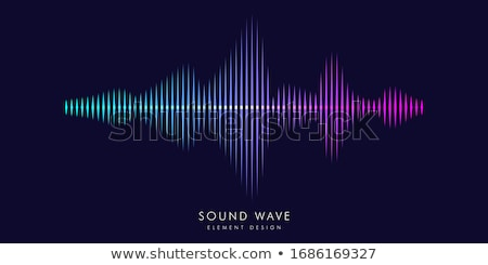 abstract spectrum wave background Stock photo © pathakdesigner