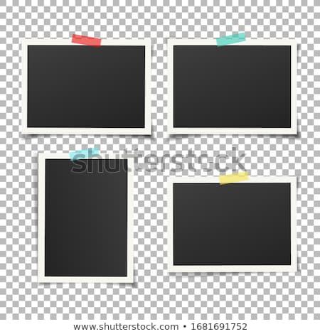 Immediato foto modello due foto impiccagione Foto d'archivio © timurock
