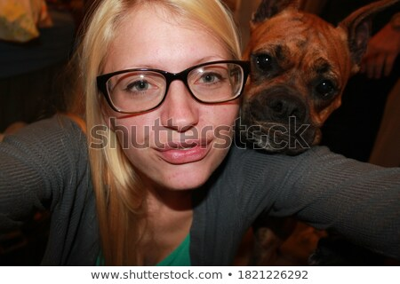 Beautiful Blonde Boxer Stock photo © fouroaks