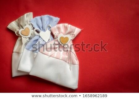 пусто брезент мешок белый Сток-фото © Digifoodstock